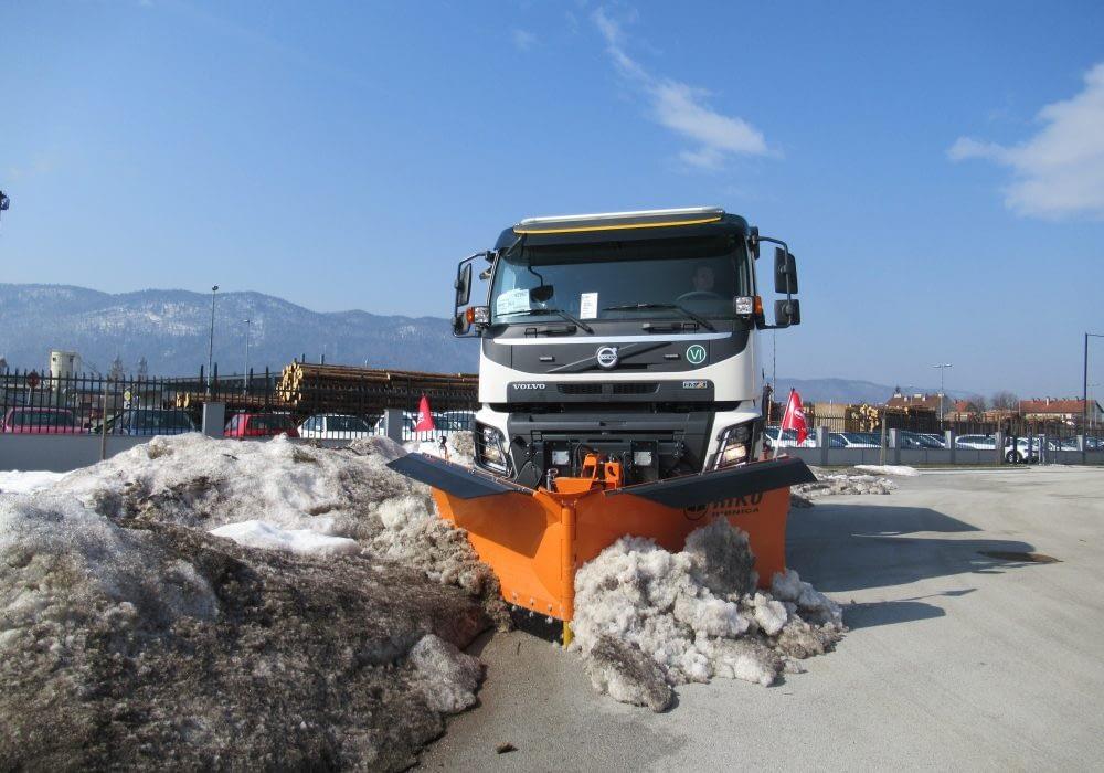 Fotografija izdelka - Snežni plug SPV