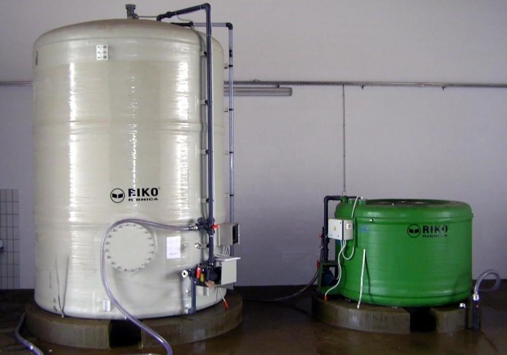 Fotografija izdelka - Mešalne naprave in cisterne RikoMix in RikoHran